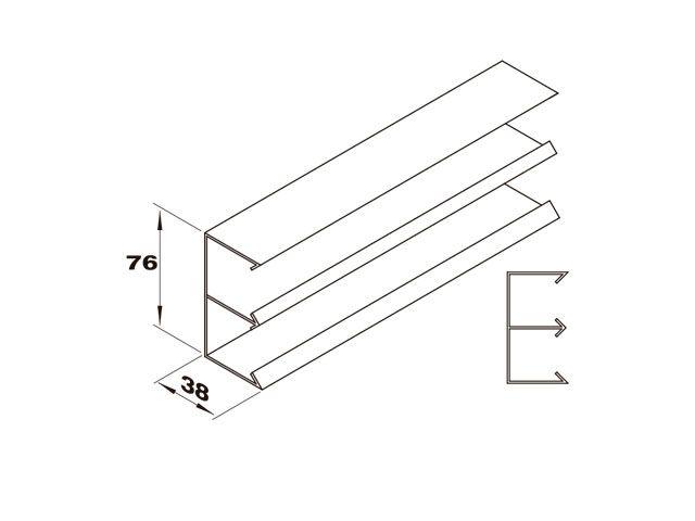 Duplo horizontal