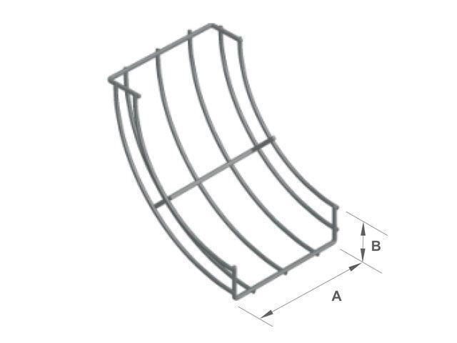 Curva vertical interna 90º